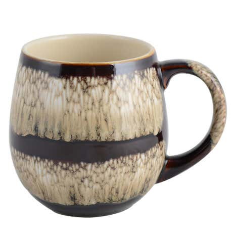 Brown Reactive Glaze Mug