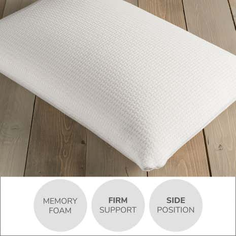 Rebound Memory Foam Firm-Support Pillow