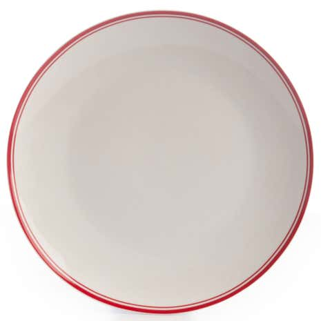 Red Band Dinner Plate