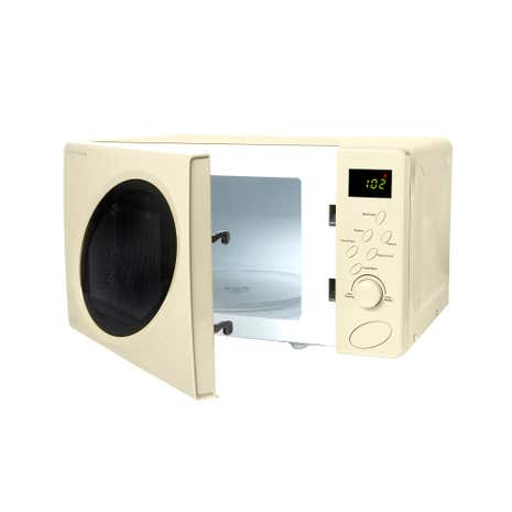 Spectrum 700w Cream 20l Digital Microwave Loz 20 Percent Off Ws15