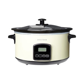 Spectrum Cream Digital Slow Cooker