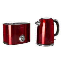Red Spectrum Kettle and Toaster Set