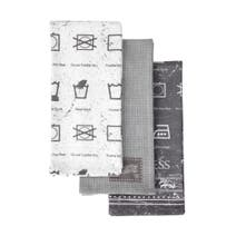 Pack of 3 Laundrette Tea Towels