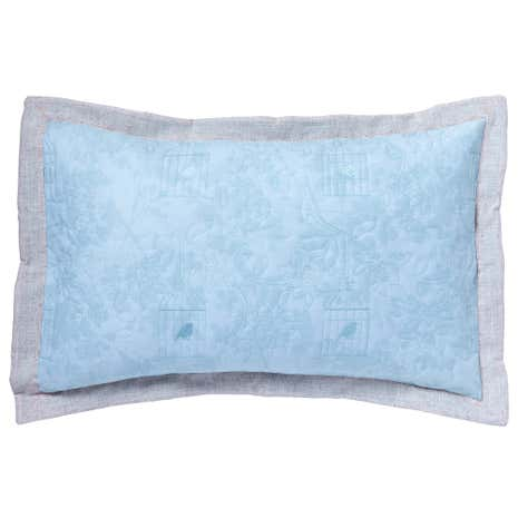Evelyn Duck-Egg Pillow Sham