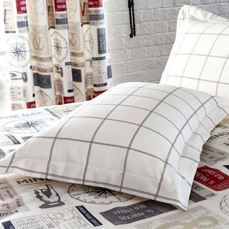 Salvage Ticket Oxford Pillowcase
