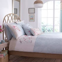 Evelyn Duck Egg Duvet Cover