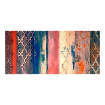 Global Lux Abstract Embellished Canvas