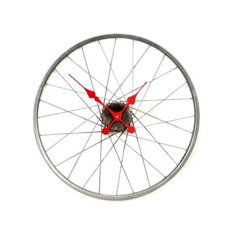 Bike Wheel Spoke Clock