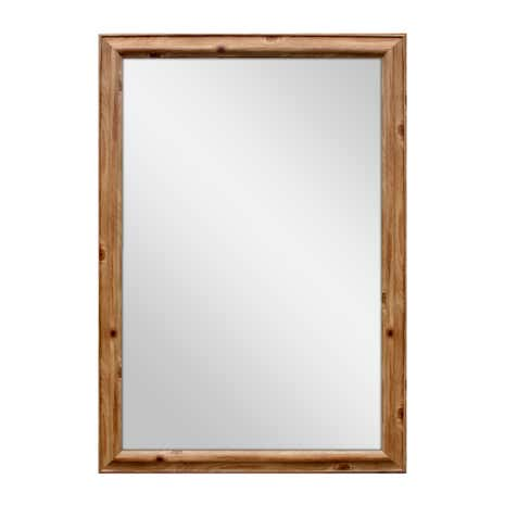 Pine Effect Traditional Mirror