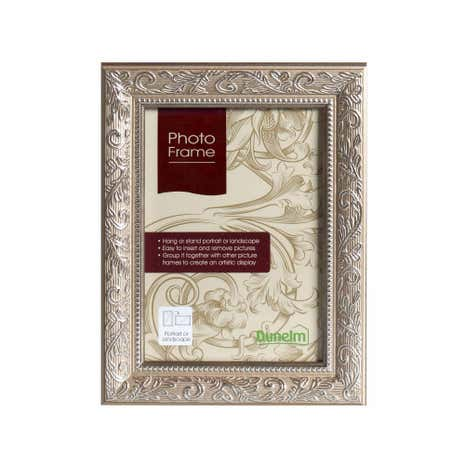 Champagne Ornate Photo Frame
