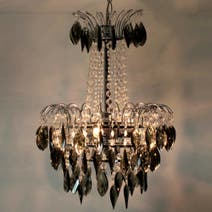 Sarah Chandelier Acrylic Drop Light Fitting