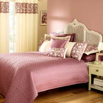 Evie Butterfly Heather Bedspread