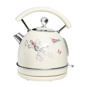 Beautiful Birds 1.7L Cream Kettle