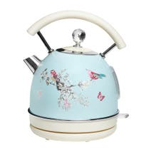 Beautiful Birds Duck-Egg Kettle