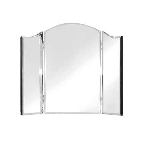 Viola Mirrored Triple Mirror