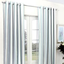 Blue Luna Blackout Eyelet Curtains