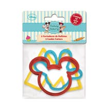 Disney Set of 3 Mickey Mouse Cookie Cutters