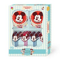Disney Cupcake Case and Topper Set