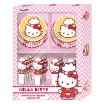 Hello Kitty Cupcake Set