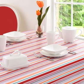 Aster Round PVC Tablecloth