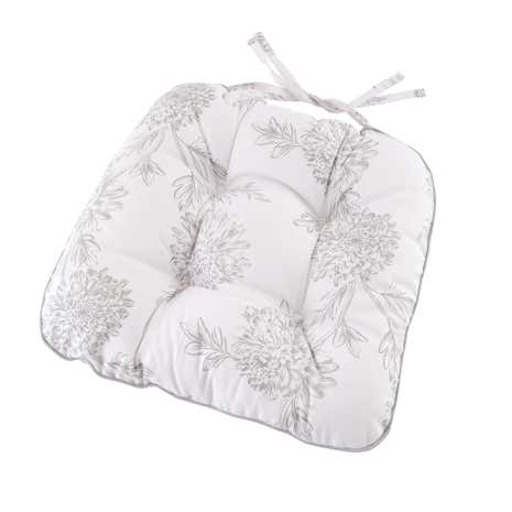 etched floral seat pad dunelm. Black Bedroom Furniture Sets. Home Design Ideas
