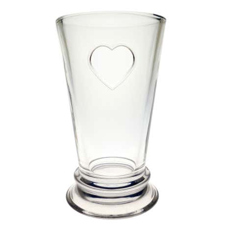 Country Heart Highball Glass