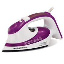 Morphy Richards 300604 Purple Ionic Turbosteam Iron