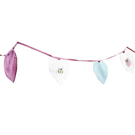 Kids Pretty Owls Bunting