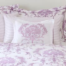 Dorma Heather Toile Boudoir Cushion
