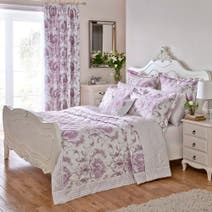 Dorma Heather Toile Bedspread