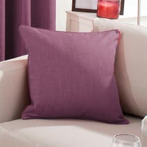 Solar Aubergine Cushion Cover