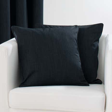 Solar Black Cushion Cover