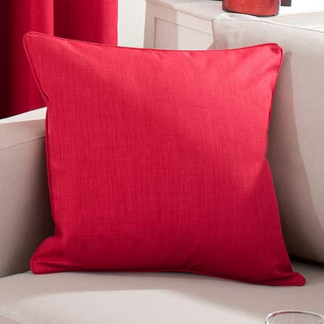 Solar Red Cushion Cover