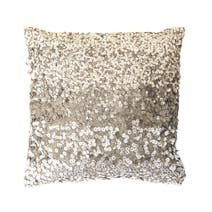 Mink Sequin Square Cushion