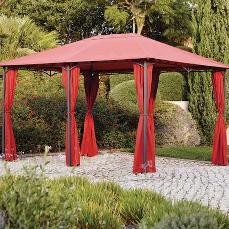 Arabian Deluxe Rectangular Gazebo