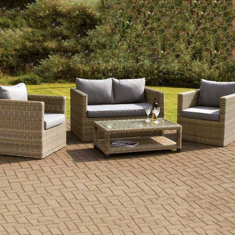 Arabian Deluxe Four Seat Conversation Set