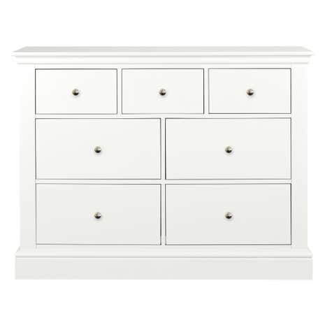 Blakely White 7 Drawer Chest