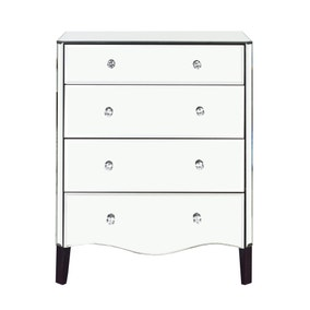 Viola Mirrored 4 Drawer Chest