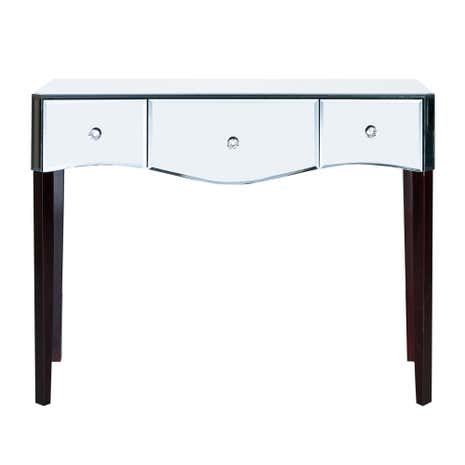 Viola mirrored dressing table dunelm - Dunelm console table ...