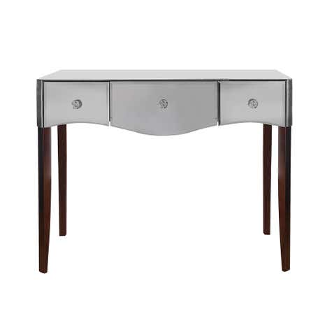 Viola Smoke Mirrored Dressing Table