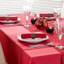 Red Spectrum Tablecloth