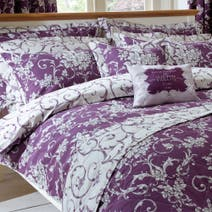 Adriana Sateen Plum Pillow Sham