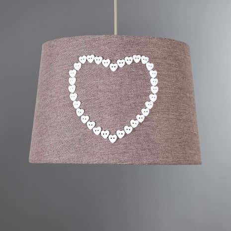 Amour Heart Button Shade