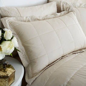 Antique Lace Cream Pillow Sham