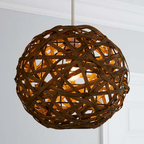 Apollo Bamboo Ball Pendant