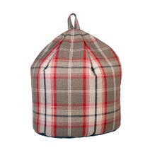 Balmoral Tweed Bean Bag