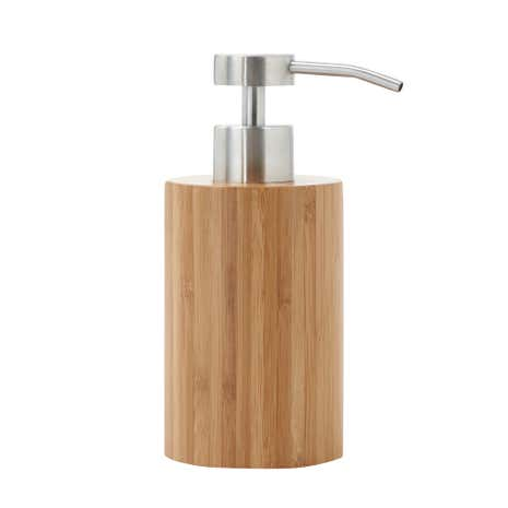 Bamboo Lotion Dispenser