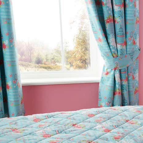 Belle Blackout Eyelet Curtains