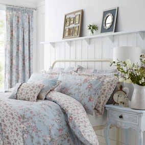 Bethany Duck-Egg Oxford Pillowcase