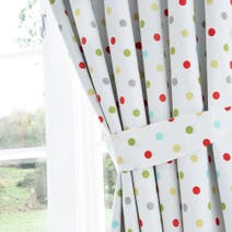 Bright Nursery Blackout Pencil Pleat Curtains